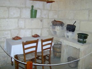20 - the kitchen - stone and kerosene stoves